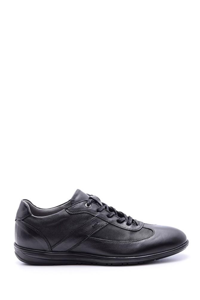 Siyah Erkek Deri Ayakkabı 5638089784