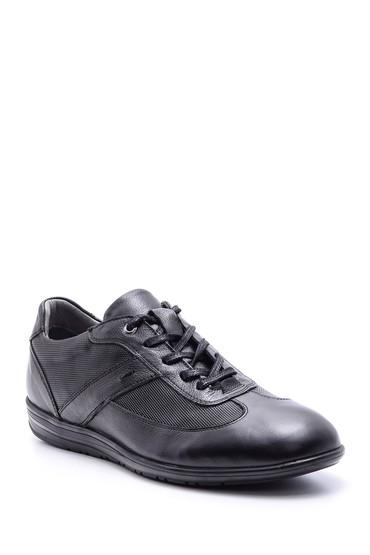Siyah Erkek Deri Ayakkabı 5638089780