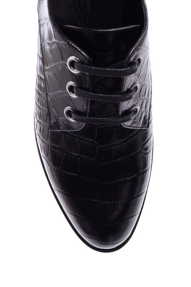 5638092671 Kadın Kroko Desenli Ayakkabı