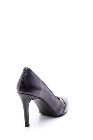 Kadın Şeffaf Detaylı Deri Stiletto