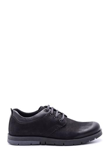 Siyah Erkek Nubuk Deri Ayakkabı 5638073916