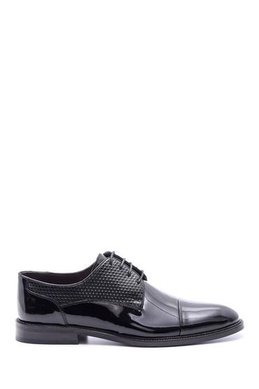 Siyah Erkek Rugan Deri Ayakkabı 5638078903