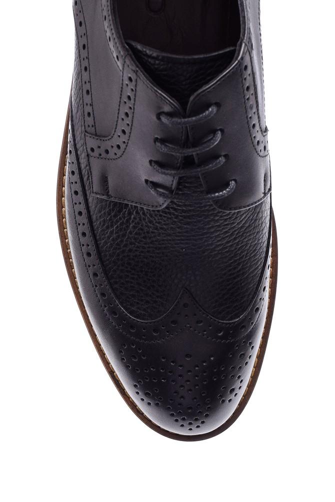 5638078951 Erkek Klasik Deri Ayakkabı
