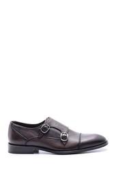 5638078997 Erkek Klasik Tokalı Deri Ayakkabı