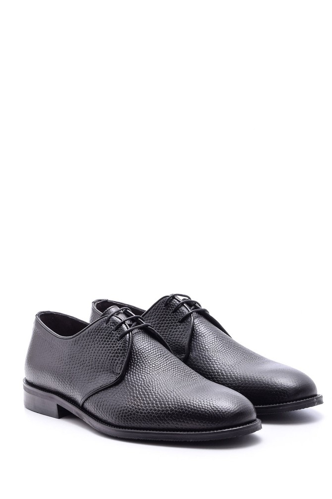 5638079841 Erkek Klasik Deri Ayakkabı