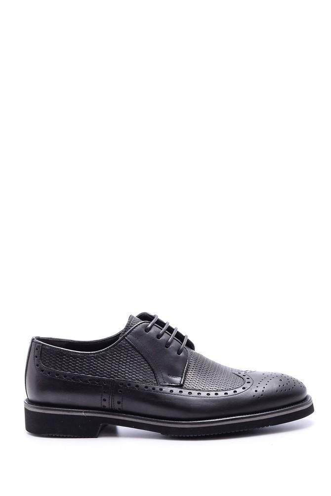 5638080554 Erkek Klasik Deri Ayakkabı