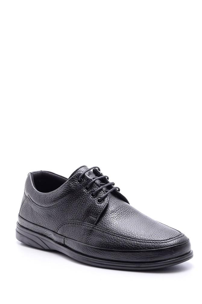 5638080975 Erkek Bağcıklı Deri Ayakkabı