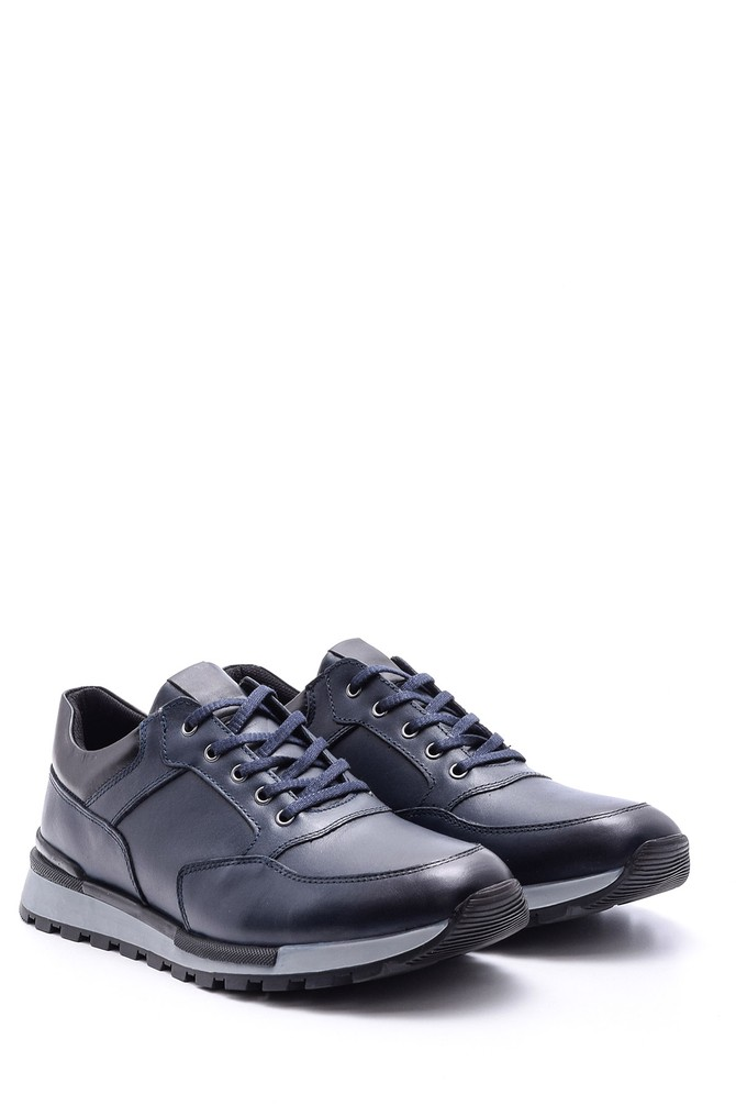 5638081008 Erkek Deri Sneaker