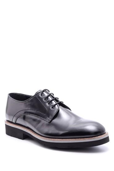 Siyah Erkek Rugan Deri Klasik Ayakkabı 5638085982