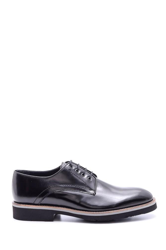 Siyah Erkek Rugan Deri Klasik Ayakkabı 5638085984