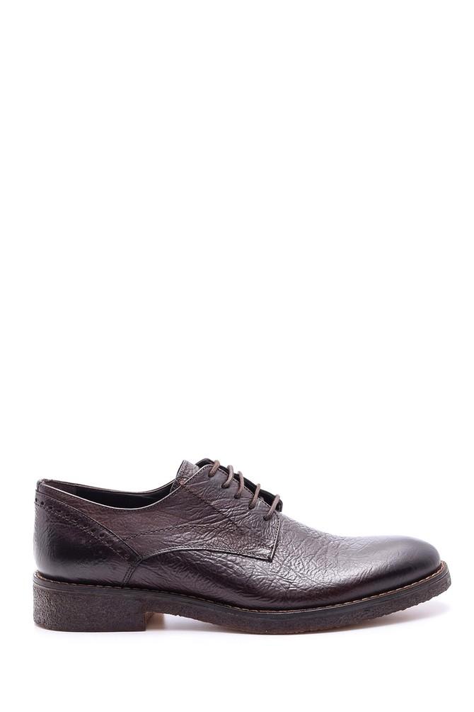 Kahverengi Erkek Deri Ayakkabı 5638086155