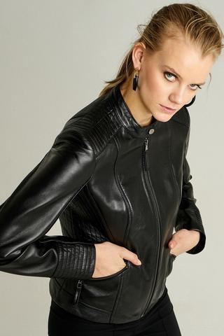Nita Kadın Deri Ceket