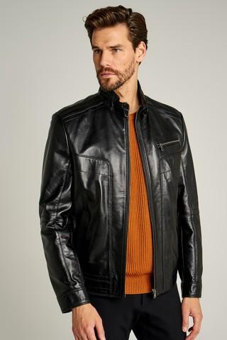 New Hugo Erkek Deri Ceket