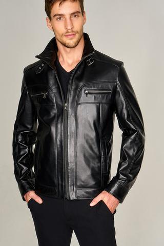 Nıco Erkek Deri Ceket