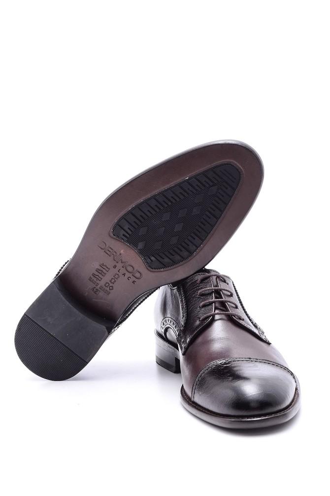 5638088425 Erkek Deri Kösele Ayakkabı
