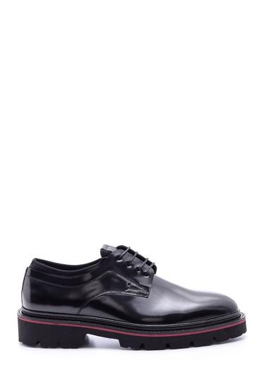 Siyah Erkek Rugan Deri Ayakkabı 5638094239