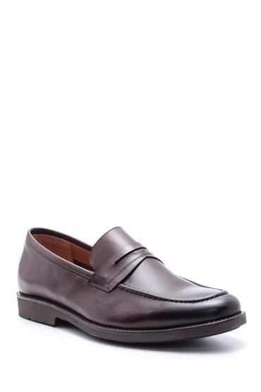 Kahverengi Erkek Deri Ayakkabı 5638094340