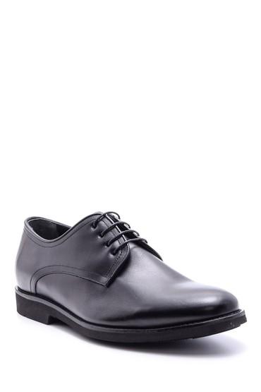 Siyah Erkek Deri Ayakkabı 5638094343