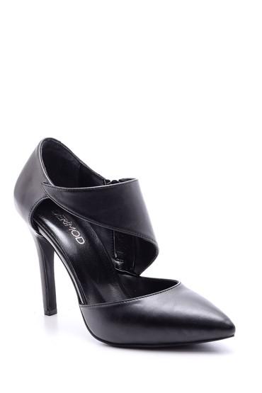 Siyah Kadın Topuklu Bootie 5638093909
