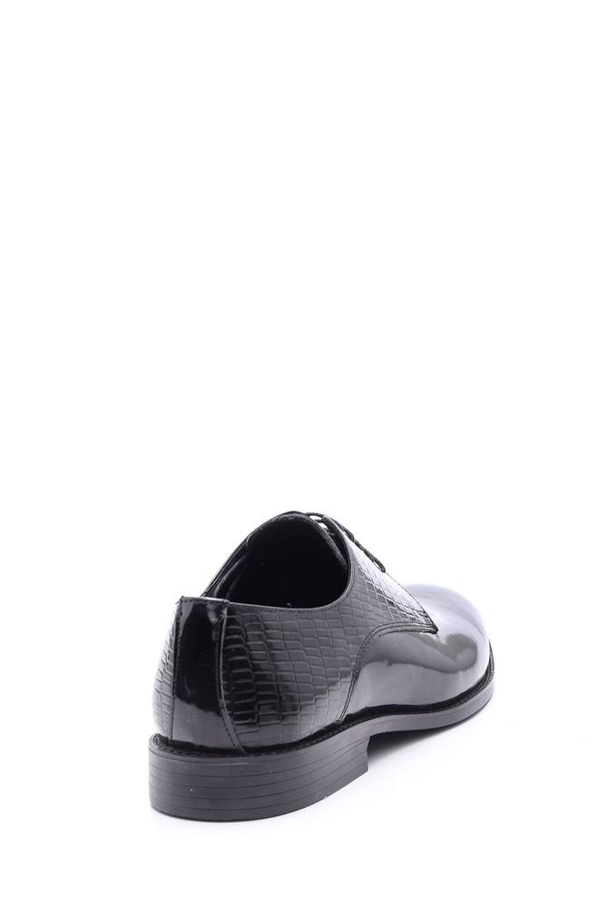 5638094540 Erkek Kroko Detaylı Klasik Ayakkabı