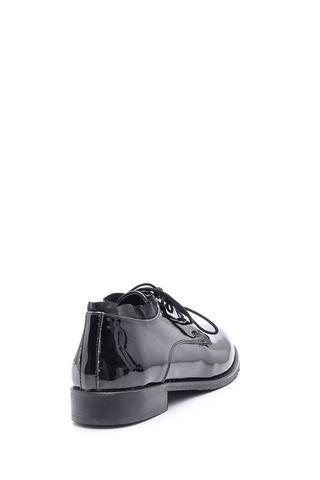 Kadın Rugan Bağcıklı Ayakkabı