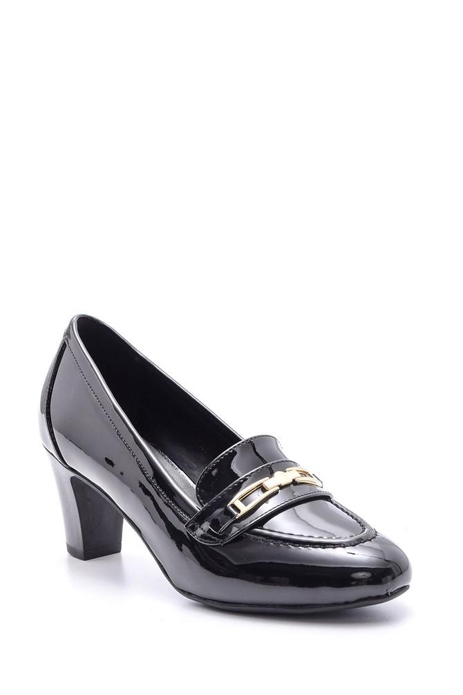 5638082998 Kadın Rugan Topuklu Ayakkabı