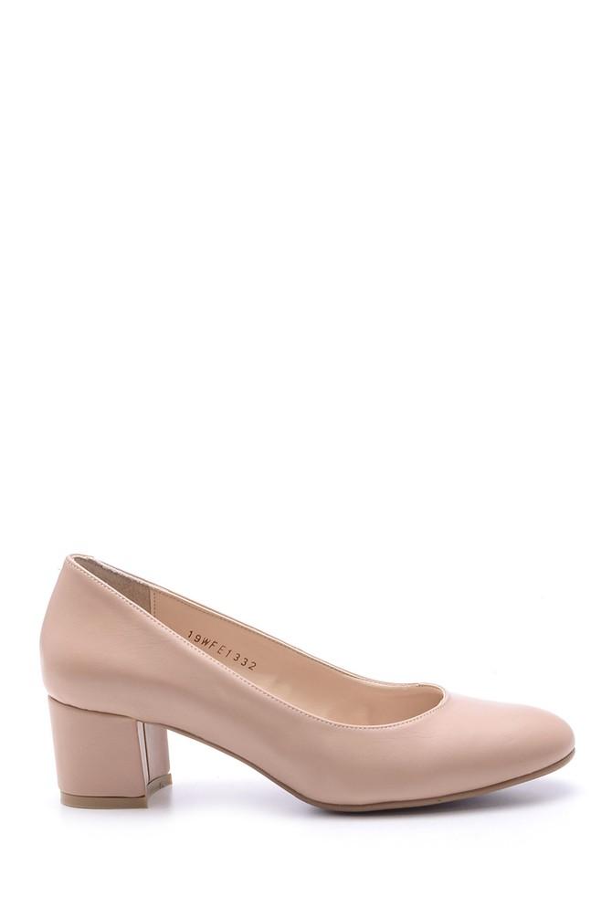 Pembe Kadın Topuklu Ayakkabı 5638093706