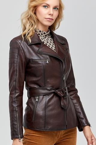 Mayfair Kadın Deri Ceket