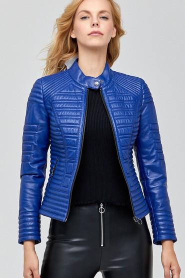 Mavi Newyork Kadın Deri Ceket 5638106133