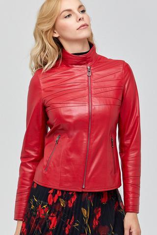 Roma Kadın Deri Ceket