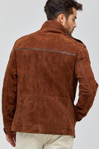 Suarez Erkek Deri Ceket