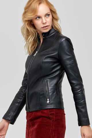 Tania Kadın Deri Ceket