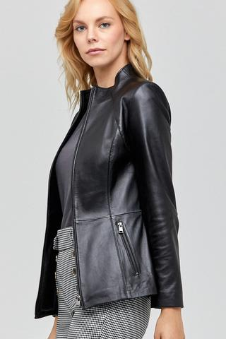Betina Kadın Deri Ceket