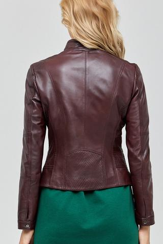 June Kadın Deri Ceket