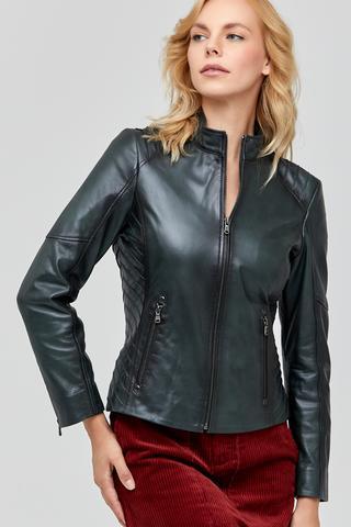 Naomi Kadın Deri Ceket