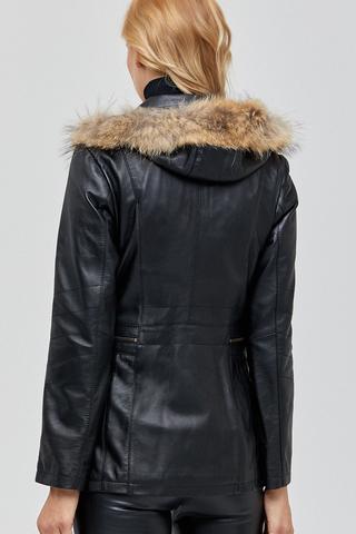 Haiti Kadın Deri Ceket
