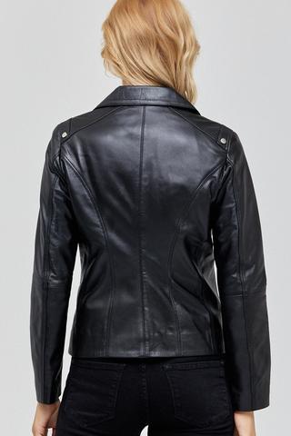 Claris Kadın Deri Ceket