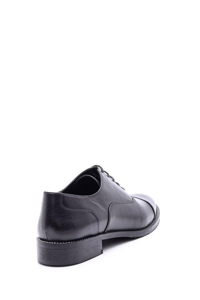 5638092697 Kadın Klasik Deri Ayakkabı