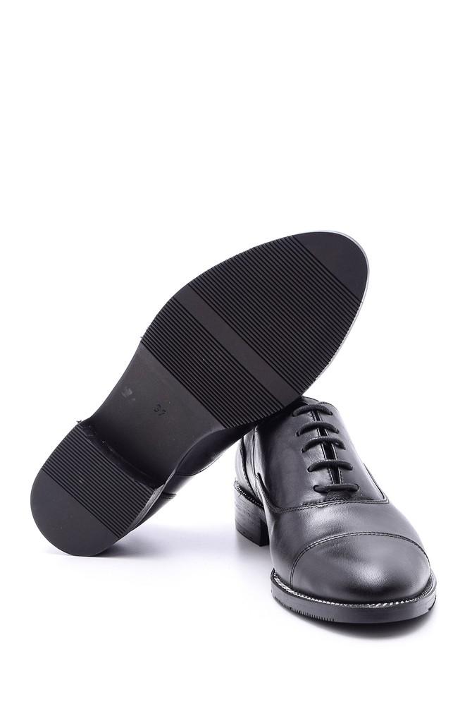 5638092689 Kadın Klasik Deri Ayakkabı