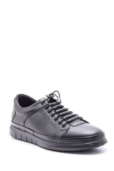Siyah Erkek Casual Deri Ayakkabı 5638080860