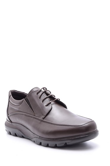 Kahverengi Erkek Casual Deri Ayakkabı 5638083579