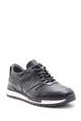 5638089306 Erkek Kroko Detaylı Deri Sneaker