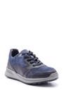 5638089419 Erkek Süet Detaylı Deri Sneaker
