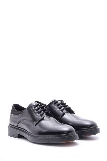 Siyah Erkek Casual Deri Ayakkabı 5638089581