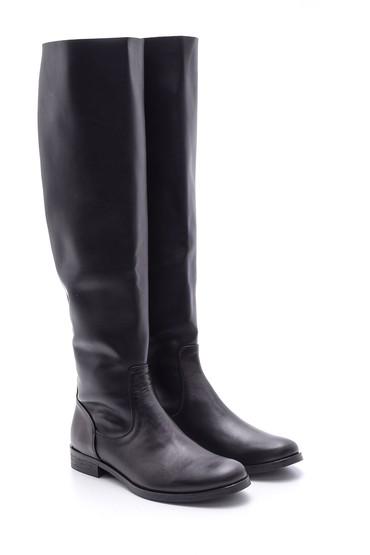 Siyah Kadın Deri Çizme 5638085255