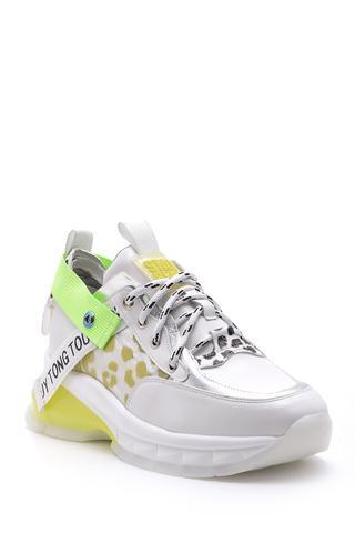 Kadın Desenli Sneaker