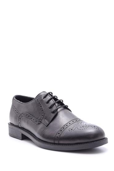 Siyah Erkek Casual Deri Ayakkabı 5638097865
