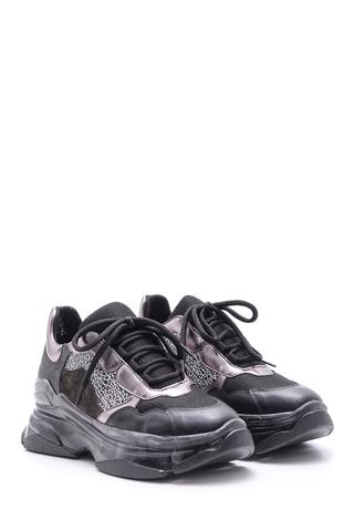 Kadın Şeffaf Tabanlı Sneaker