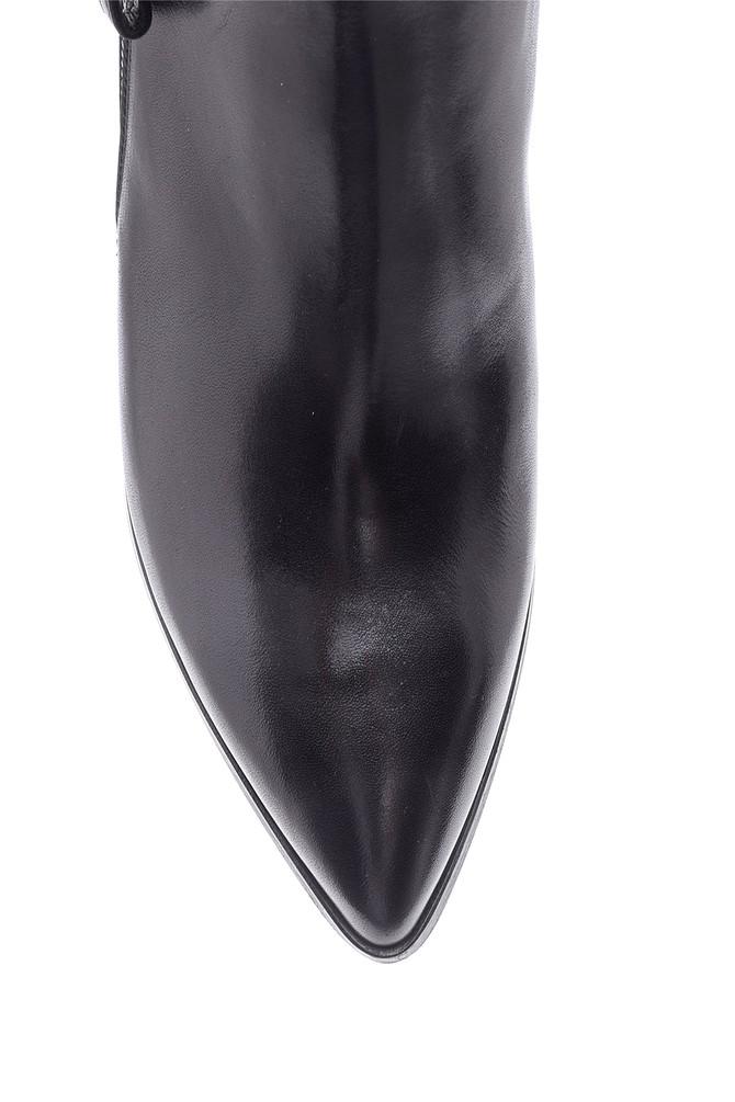 5638098036 Kadın Topuklu Deri Bot