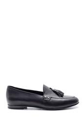 5638103230 Kadın Klasik Deri Loafer